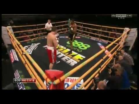 Anthony Joshua (3rd pro fight)Vs Hrvoje Kisicek FULL FIGHT knockout