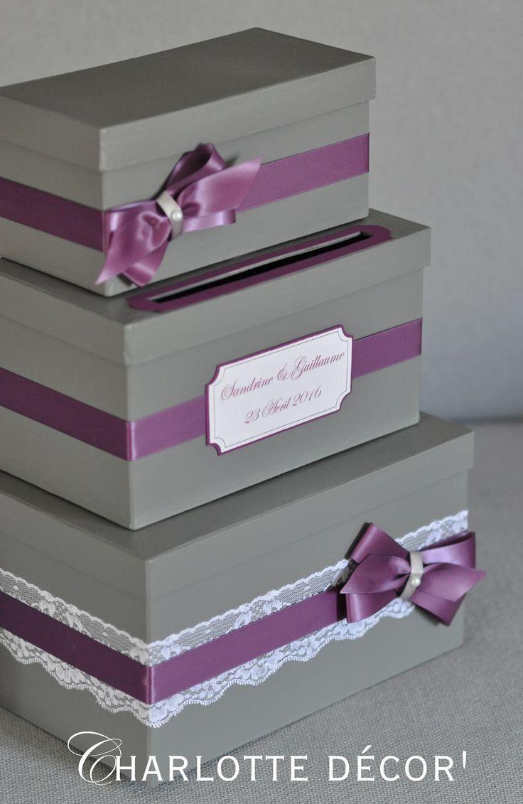 Urne à étage, forme et couleurs au choix : Boîtes, coffrets par charlotte-decor