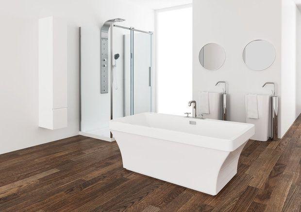 Mirolin Cruz Freestanding Tub 60 X 32 X 22 Bathtub Tub Home Hardware