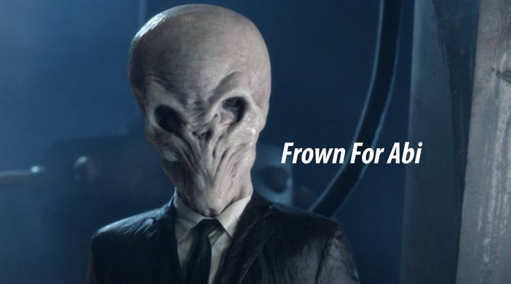 Frown For Abi:  Silence