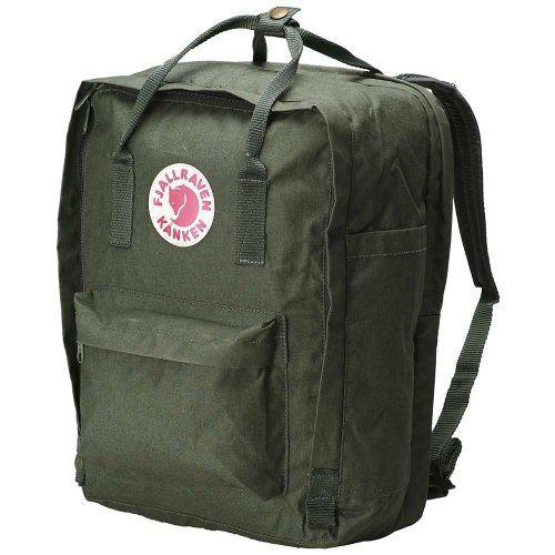 best - Fjallraven Kanken Backpack, Forest Green, 15-Liter Fjallraven http://www.amazon.com/dp/B003NF8CPO/ref=cm_sw_r_pi_dp_Ox9Otb120Q8JAJKM