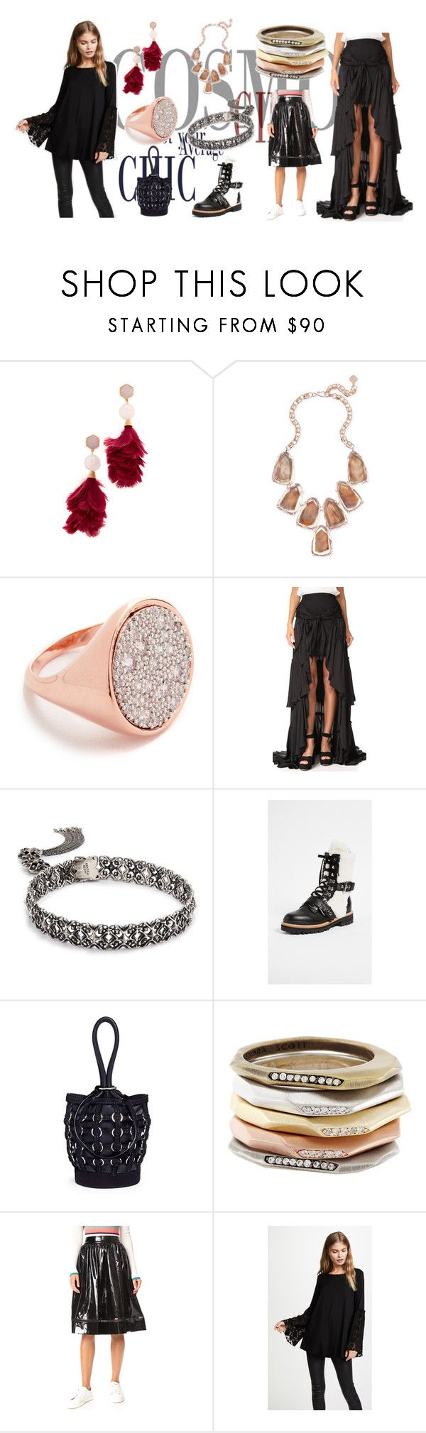 """My Style .. My Way"" by justinallison ❤ liked on Polyvore featuring Tory Burch, Kendra Scott, Bronzallure, Cinq à Sept, Sigerson Morrison, Alexander Wang, Alice + Olivia and Three Dots"