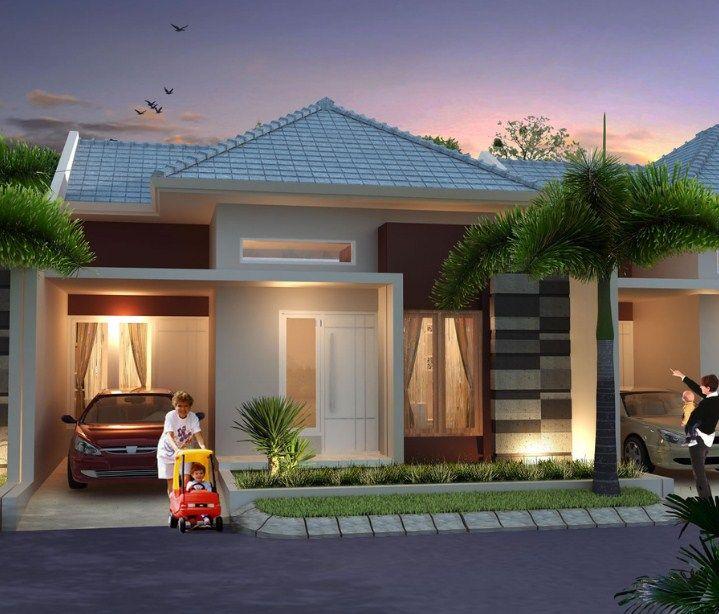 Model Gambar Rumah Minimalis Type 45 2 Rumah Minimalis Rumah Indah Rumah