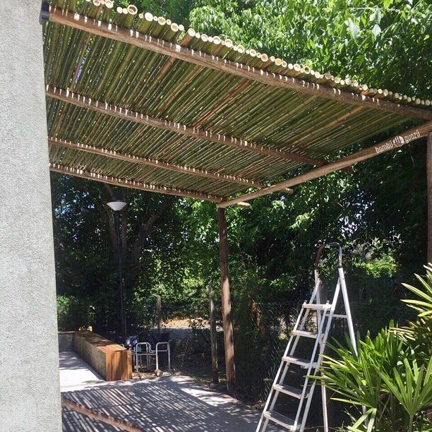 "40 Likes, 1 Comments - Bᴀᴍʙᴜ◍Gᴜᴀᴢᴜ (@bambuguazu) on Instagram: ""#Pérgola de #bambú #trabajo #bienhecho #ondemand #villagedelparque #gutierrez #berazategui #abril…"""