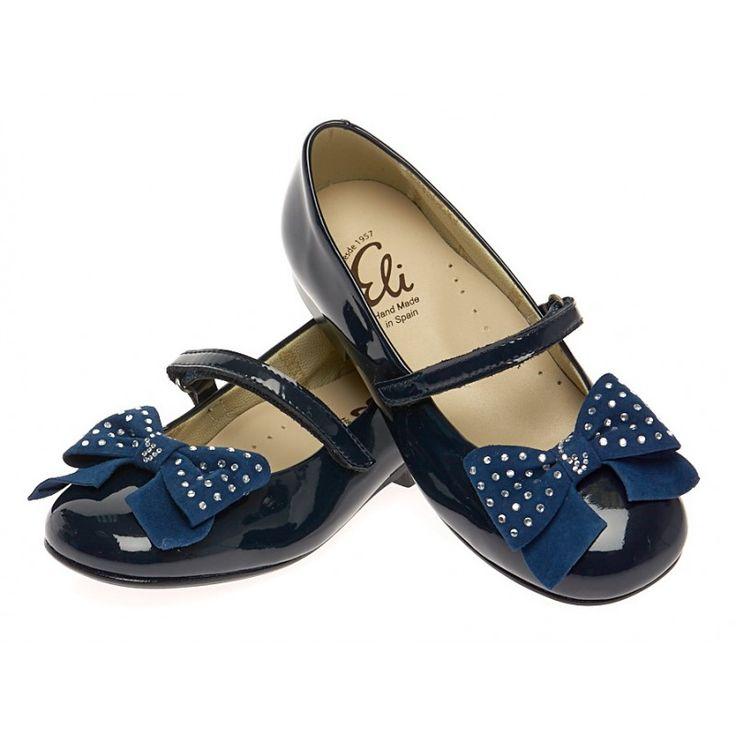Лаковые синие туфли мужские