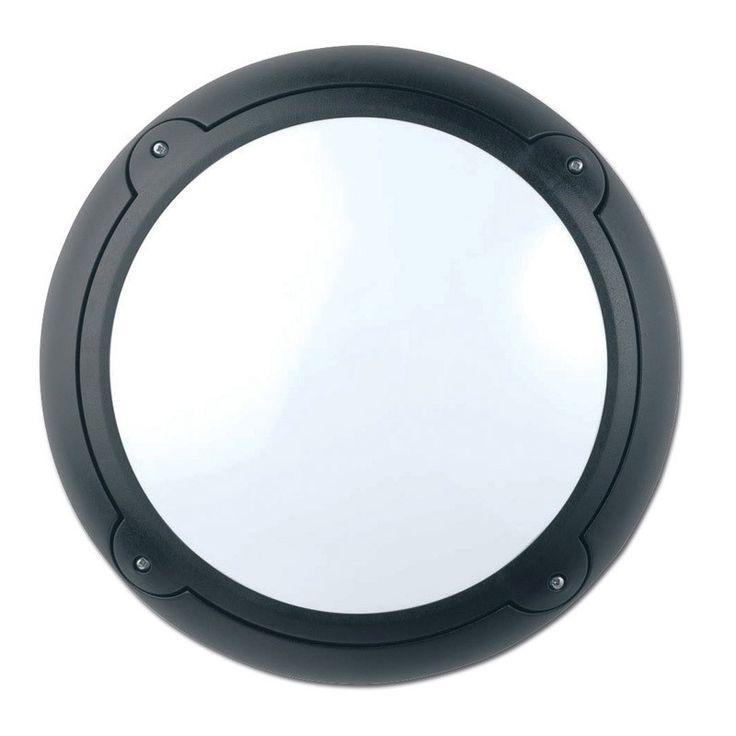 Asd Horizon Low Energy Outdoor Wall Light With Dusk To Dawn Sensor