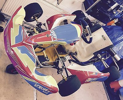 2x tkm #racing go #karts with #trailer,  View more on the LINK: http://www.zeppy.io/product/gb/2/162013729365/
