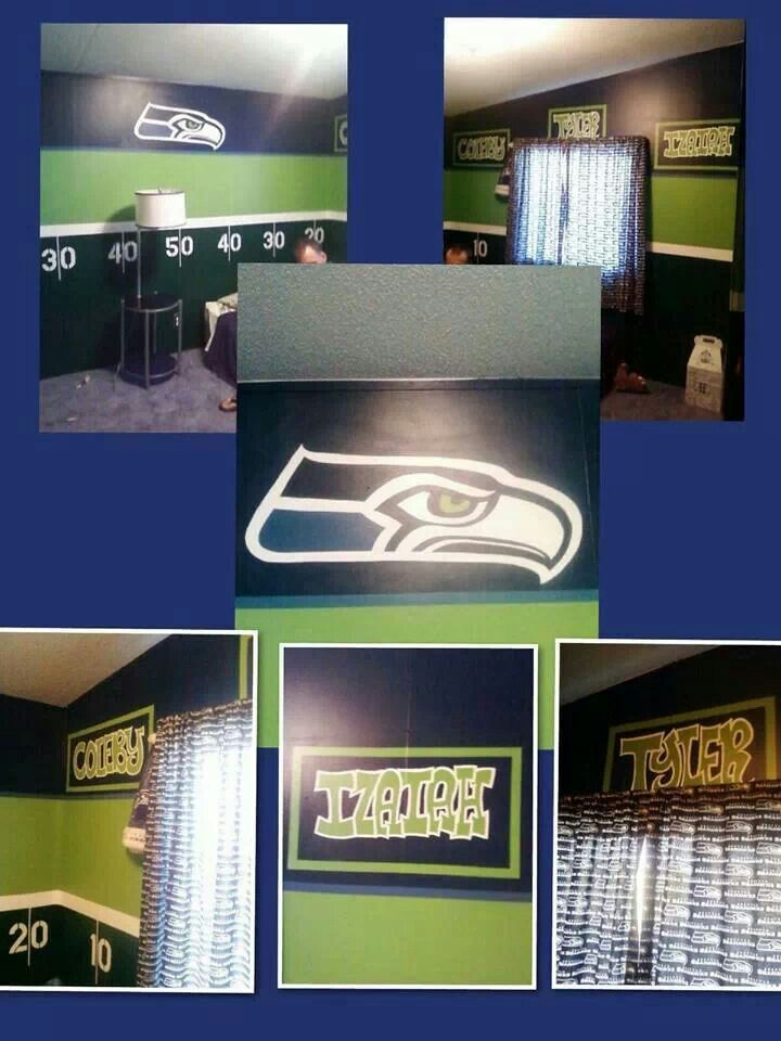 13 best Seattle Seahawks Rooms & ( Wo ) Man Caves images on ...
