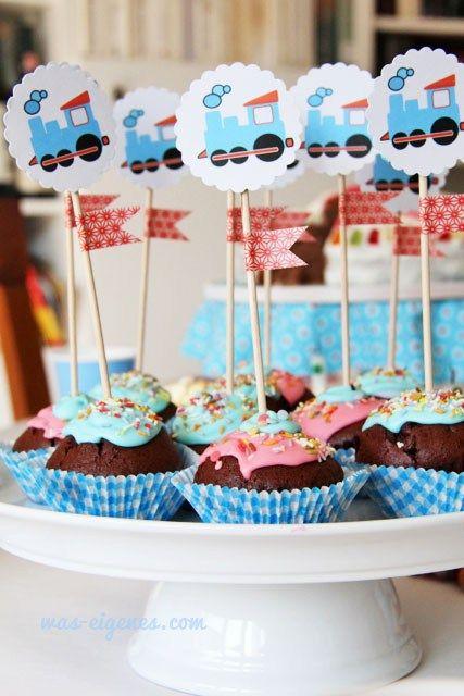 Thomas Lok Geburtstag Cupcakes Was Eigenes 6 Kinder Geburtstag Diy Kindergeburtstag Kindergeburtstag