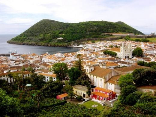 Terceira Island is one of Joe's work spots.  It is in Portugal.  Very pretty.