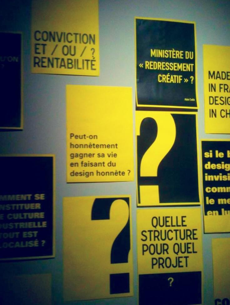 Réflexions sur le design via www.lecolededesign.com