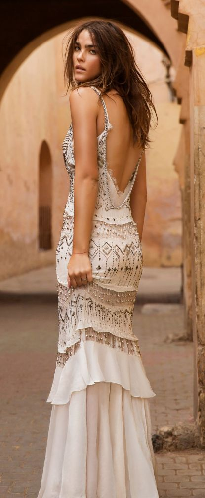 street style / boho dress