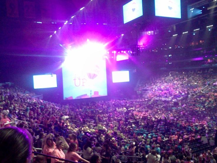 Straight ahead of me at Thirty One conference 2012