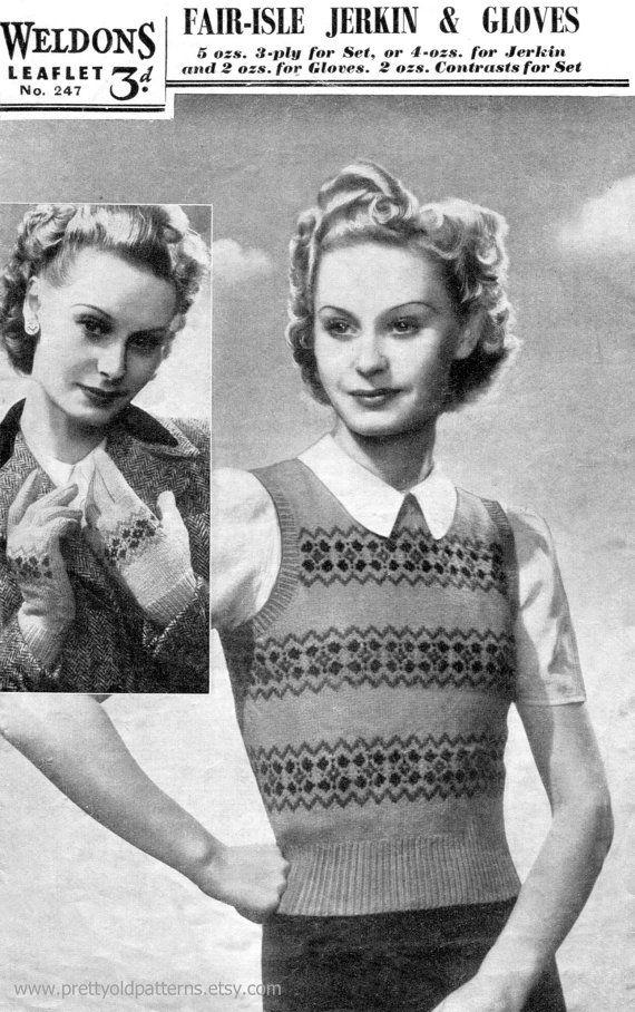218 best Vintage knitting images on Pinterest | Cardigans, Jumpers ...