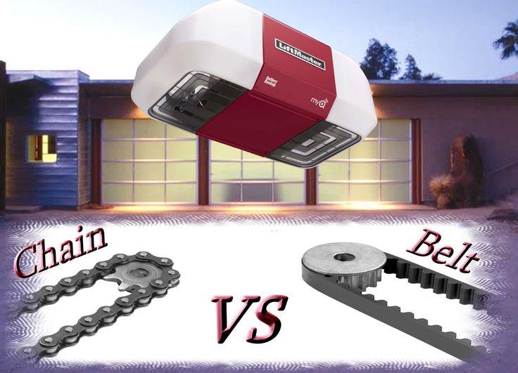 Garage Door Chain Vs Belt
