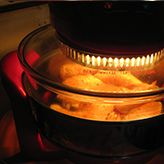 Cooking a Whole Roast Chicken In A Halogen Oven