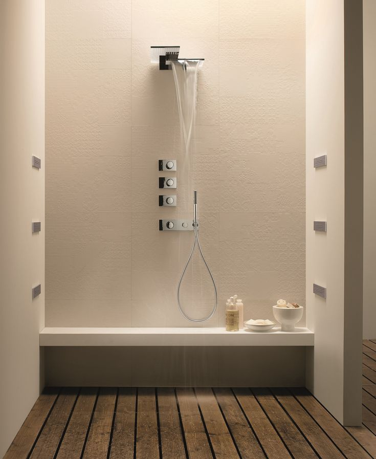 Wall-mounted 2-spray overhead shower MILANO - 8035 - @fratellifantini