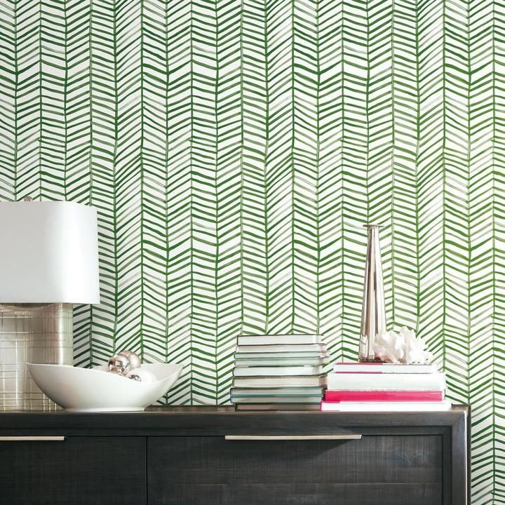 Cat Coquillette Herringbone Peel Stick Wallpaper Peel And Stick Wallpaper Room Visualizer Solid Wood Dining Chairs