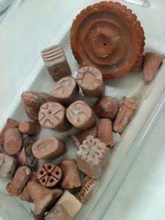 clay stamps--art helper job: Clay Projects, Stamps Art, Art Crafts, Clay Texture Tools Techniques, Clay Stamps, Ceramics Texture, Art Moments, Texture Stamps, Ceramics Ideas