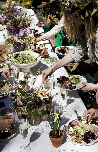 Kinfolk Magazine's Flower Pot-Luck | Amy Merrick