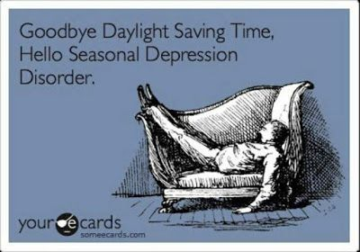 How to Fight the Winter Blues and deal with Day Light Savings Time!
