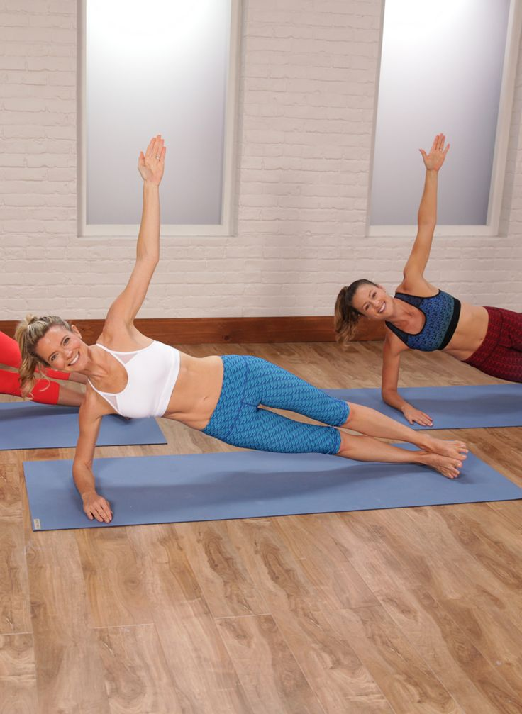 Pilates workouts strengthen your abs on every single exercise, and this 25-minute video workout from WundaBar studio is no exception. While tightening and toning your entire body, your abs and core will get a tremendous workout. You don't need any equipment for the at-home workout.