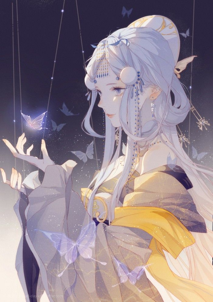 Magical Queen Taming The Beast Anime Art Girl Anime Anime Kimono