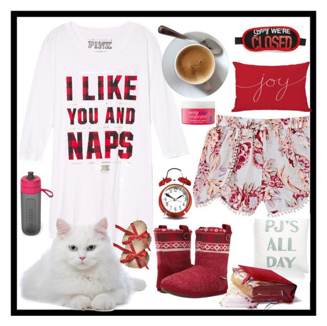 """""""I love Naps ❤️️"""" by neesyrn ❤ liked on Polyvore featuring Levtex, Skylar Luna, Foamtreads, Home Decorators Collection, Brita, Flight 001 and Etude House"""