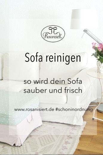 Les 20 meilleures idées de la catégorie Sofa reinigen sur - matratze reinigen hausmittel tipps