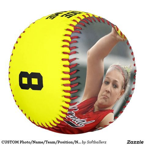 Totally customizable fastpitch softball! For the seniors! #softball #fastpitch #seniors #softballseniors #custom