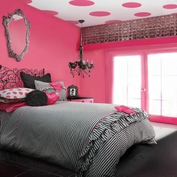 38 best Dots & Stripes Decor images on Pinterest | Bedroom ideas ...