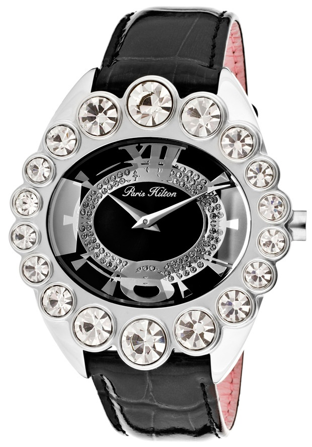 Price:$69.99 #watches Paris Hilton PH13104JS-02, With designs that embody the effortlessly chic and carefree nature of Paris herself, the Paris Hilton timewear collection offers trend setting designs to suit any occasion.