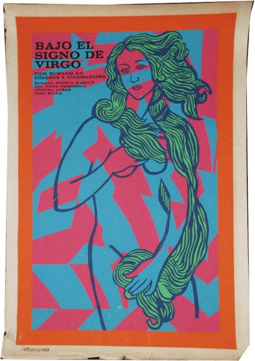 Cuba film poster  Bajo el Signo de Virgo 1968
