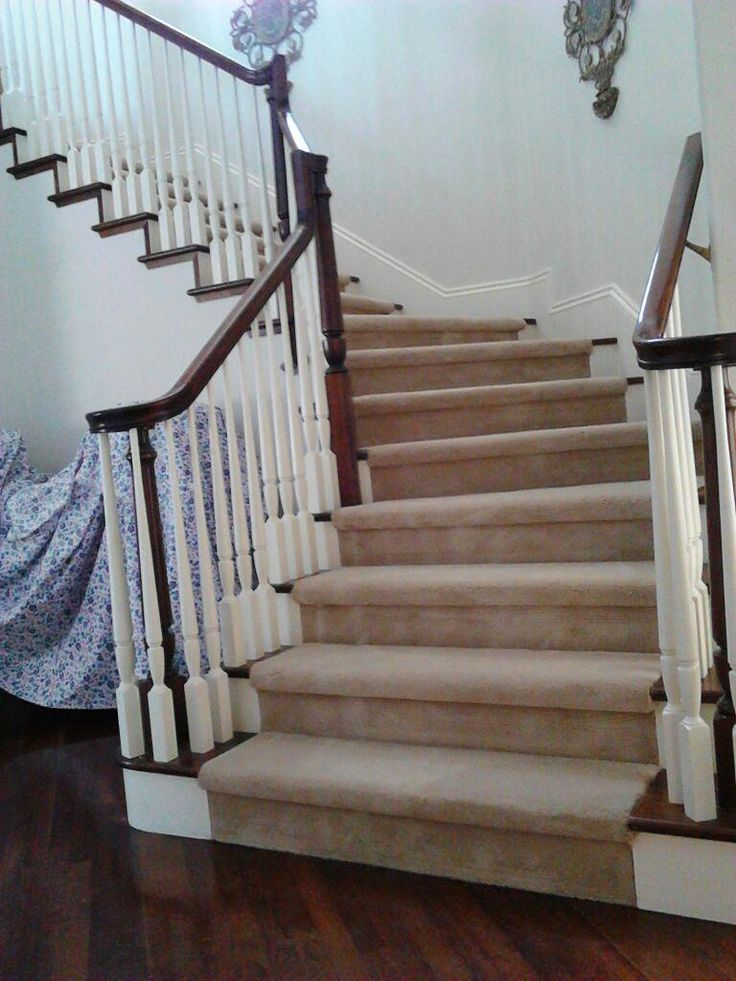 Best Recently Installed Carpet Runner On Hardwood Stairs What 640 x 480