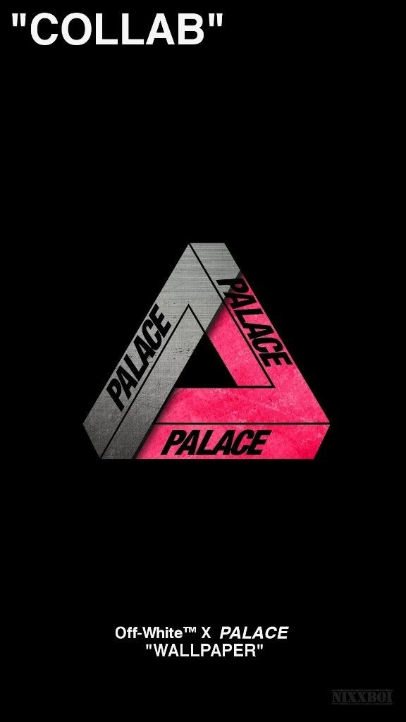 Hypebeast Wallpapers Off White X Palace Wallpaper Created By