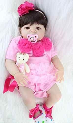 HiMom Dolls - <b>55cm</b> Soft Silicone Reborn Dolls Baby Realistic Doll ...