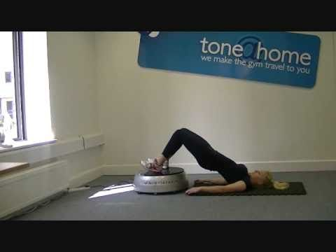 ▶ Toneathome.ie™ - Vibration plate exercises - Compact Vibroplate - YouTube