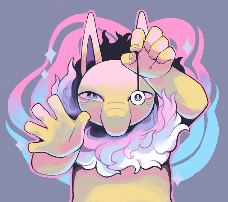 """ginsengandhoney: """" Hypno used HYPNOSIS! you can buy this on an all over print shirt here! or here (as well as on a mug, tote, notebook, etc) """""""