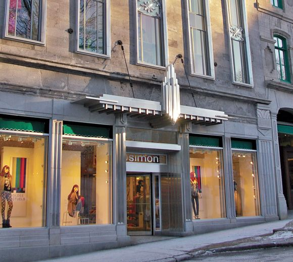 LEMAYMICHAUD | INTERIOR DESIGN | ARCHITECTURE | OLD QUEBEC | SIMONS | RETAIL | SHOPPING