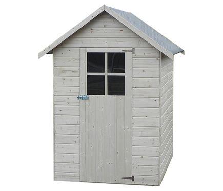 Caseta de madera de pino de 1 92 m2 anetta ideas de - Leroy merlin las rozas ...