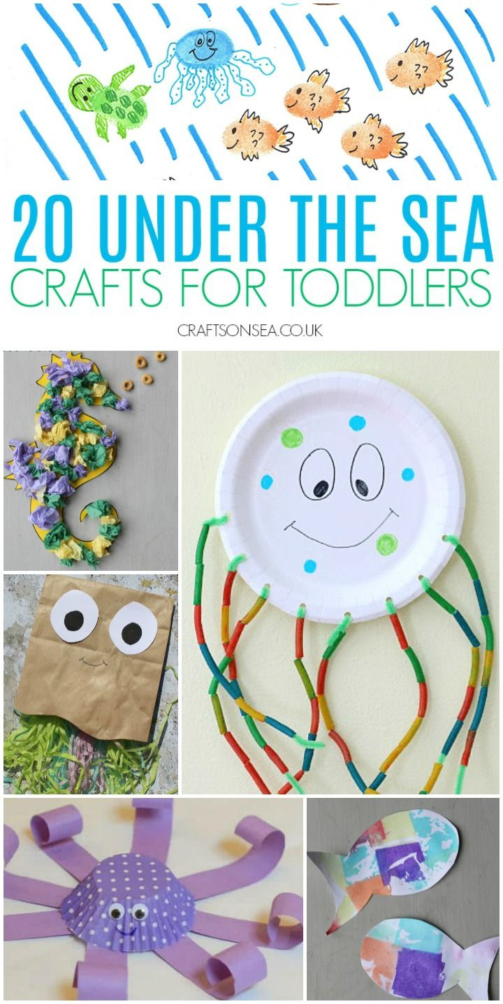 Under The Sea Crafts for Toddlers