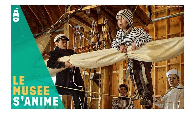 Musée maritime du Québec. Amenez vos enfants ! bit.ly/1kQAZpW