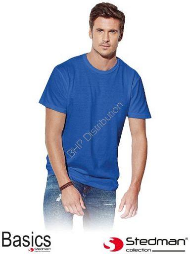 Niebieski t-shirt męski STEDMAN ST2000_BRR