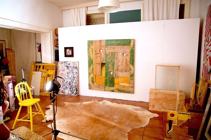 old studio view , 2017 contemporary art