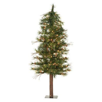 Vickerman Mixed Country Alpine Slim Pre-lit Christmas Tree - A801951