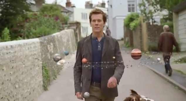 EE twists existing concept of 'Six degrees of Kevin Bacon' to tell their brand story. By actually using Kevin Bacon.