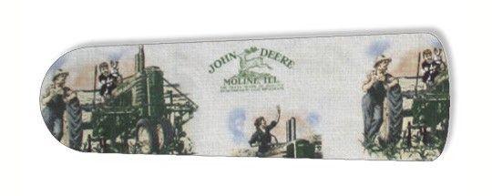 """Old Fashion John Deere 52"""" Ceiling Fan BLADES ONLY"""