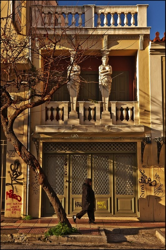45,Asomaton Str. - ATHENS Greece The residence with the caryatids in…
