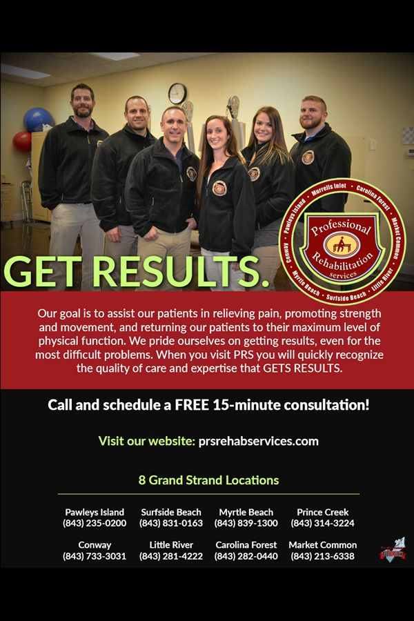 Gets Real Results At Prs In 2020 Myrtle Beach Myrtle Beach Sc Rehabilitation