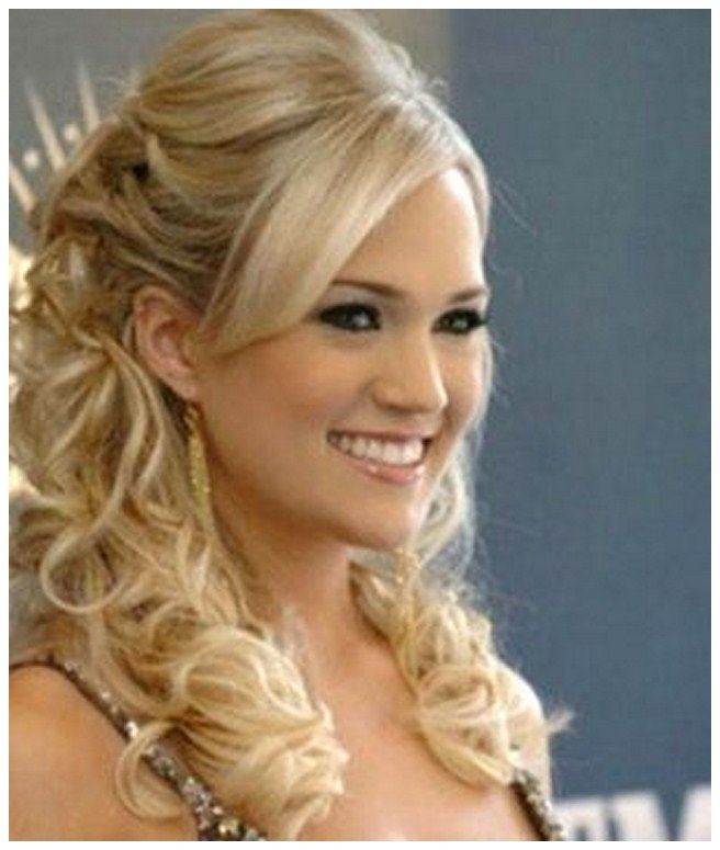 half up half down bridesmaid hairstyles pictures google